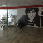 soap creative group - steve jobs mural